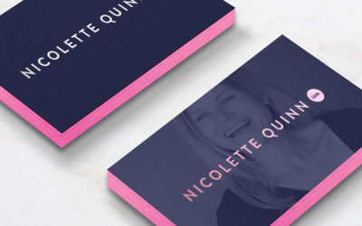 Nicolette Quinn Image Of Business Cards
