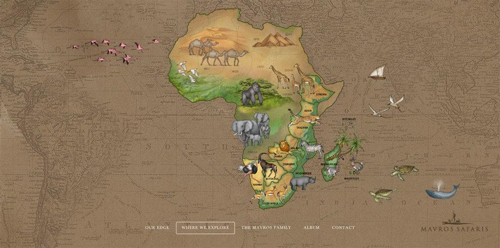 Mavros Safari Explore Map