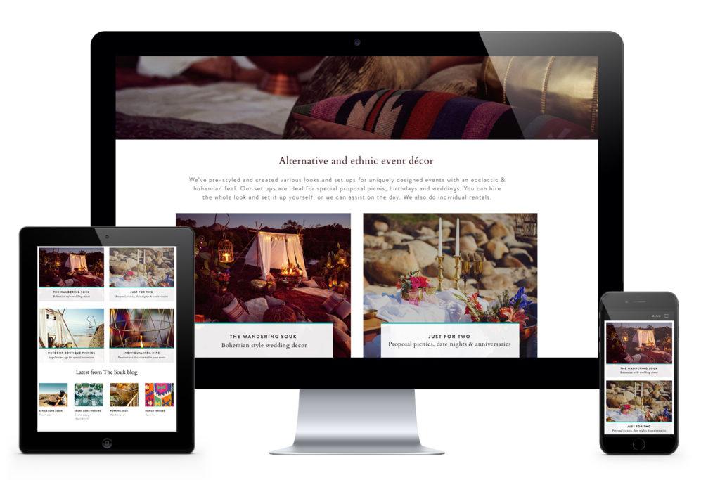 Souk responsive website design